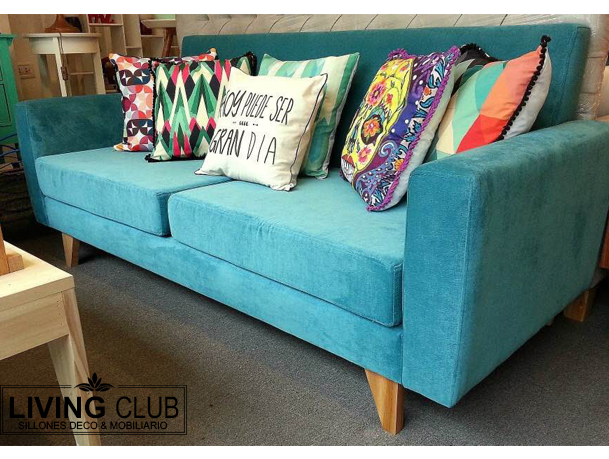 Soul sof 2mts pana living club sillones decoraci n for Sillones modernos buenos aires